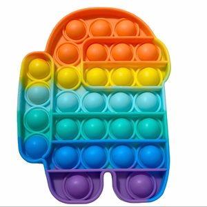 "Fidget Toy 5.5"" Among Us Pop Bubble"